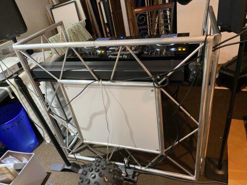 American DJ Pro Event Table II Foldable Portable Metal DJ Booth