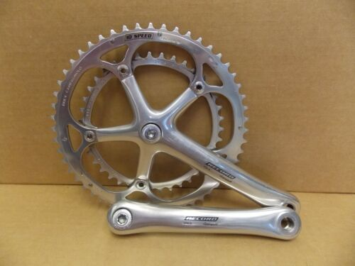 Campagnolo Record 10 Speed 172.5 Square Taper Crankset Crank Campy byc54