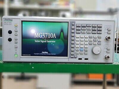 Anritsumg3710a 2 Channel Vector Signal Generator