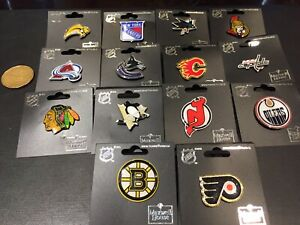 Maxwell House NHL Hockey Pin Collection