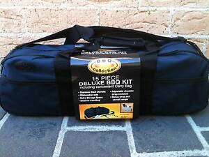 Brand New 15 piece Deluxe BBQ Kit with carry bag $20 Berala Auburn Area Preview
