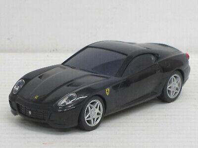 Ferrari 599 GTB Fiorano in schwarz, mit Sound, o.OVP, Hot Wheels, 1:38, Shell
