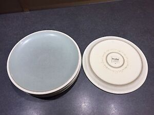 Denby Energy dinner plates (6) and pasta bowls (4)