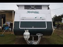 2006 majestic pop top caravan sleeps 5 price is neg Tunnack Southern Midlands Preview