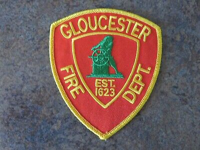 Gloucester Fire (MA, Essex Co.) Shoulder Patch, New