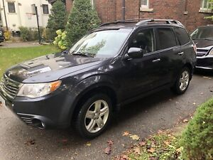 2009 Subaru Forester Auto X Limited - single owner, low KM