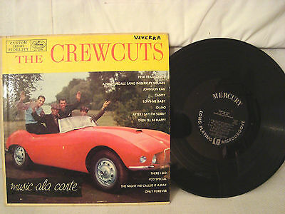 The Crewcuts Music Ala Carte Black Mercury Deep Groove Label Mg 20199
