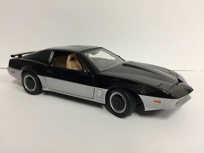 Knight Rider KARR ERTL 1/18 Scale Diecast Model Car Working Lights Rare Loose NR