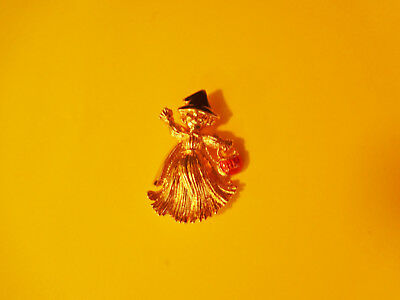 Vintage Avon Halloween Witch Pin Brooch