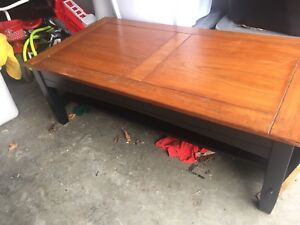 Solid good condition coffee table