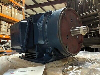 15 Hp 3 Phase Electric Motor 1765 Rpm 254tc Odp Cast Iron 208-230460
