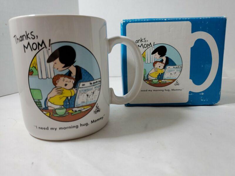 Vtg 1989 Hallmark Family Circus 10 oz Mug Cowles Syndicate Collection Mug Comics