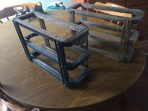 Vintage Singer Treadle drawer racks