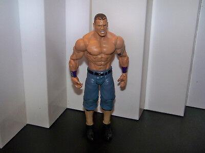 WWE WWF JOHN CENA 2010 MATTEL PURPLE WRISTBANDS AND ARM BAND ACTION FIGURE ()