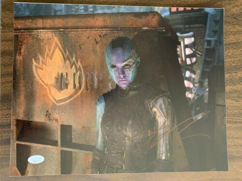 Guardians of the Galaxy Karen Gillan Autographed Signed 11x14 Photo JSA COA