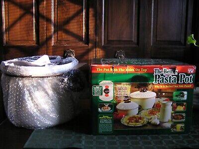 The Better Pasta Non-Stick 8Qt Stock Pot & 2.3 Qt Pot &Colander &Lids&Grater