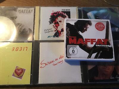 Peter Maffay [7 CD Alben]Kein Weg Tattoos 96 Liebe Sonne Nacht Feuer Eis