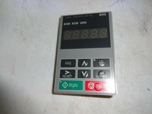 JVOP-182 /B  Inverter Operation Panel Display Keypad JV0P-182