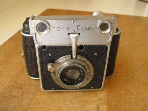 Foth Derby Type 4 IV Rangefinder US Type II CRF 50mm f/3.5 Lens