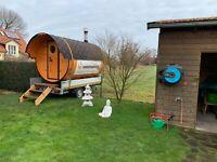 Mobile Sauna ✔️ auch mit Badezuber ✔️ Fasssauna in Bayern Bayern - Landshut Vorschau