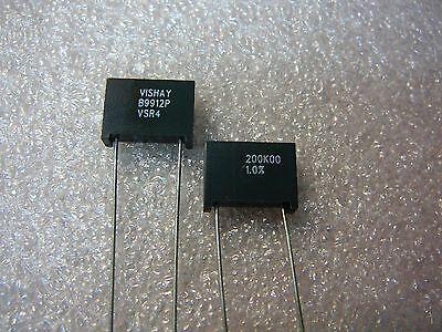 Vishay Metal Foil Industrial Precision Resistor 200k Ohm 1 New 1pkg
