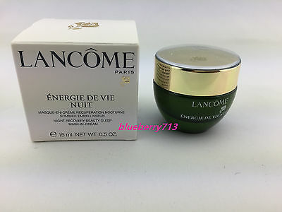 lancome energie de vie night cream