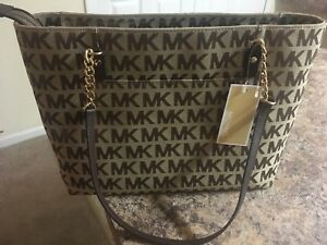 Michael kors brown handbag// sac à main mk