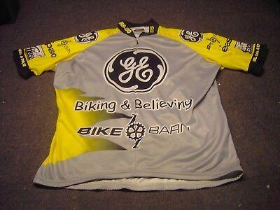 fb520a6c0 GE Biking   Believing VOmax Cyclist Jersey Size 5 (XL)