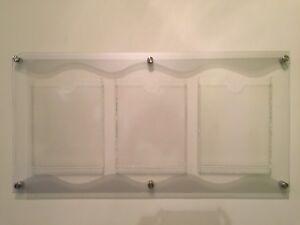 Acrylic wall-mount Display Board