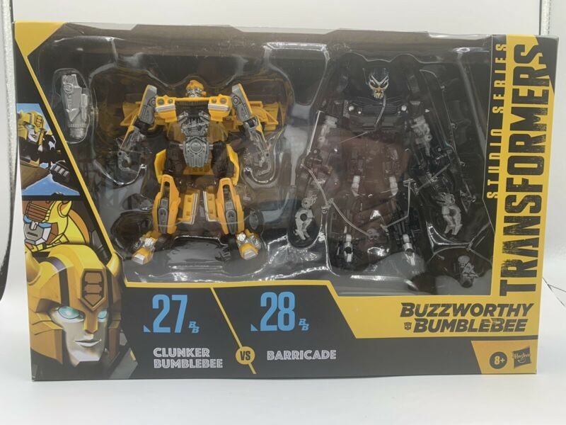 Transformers Studio Series 27 Clunker Bumblebee 28 Barricade 2 Pack New