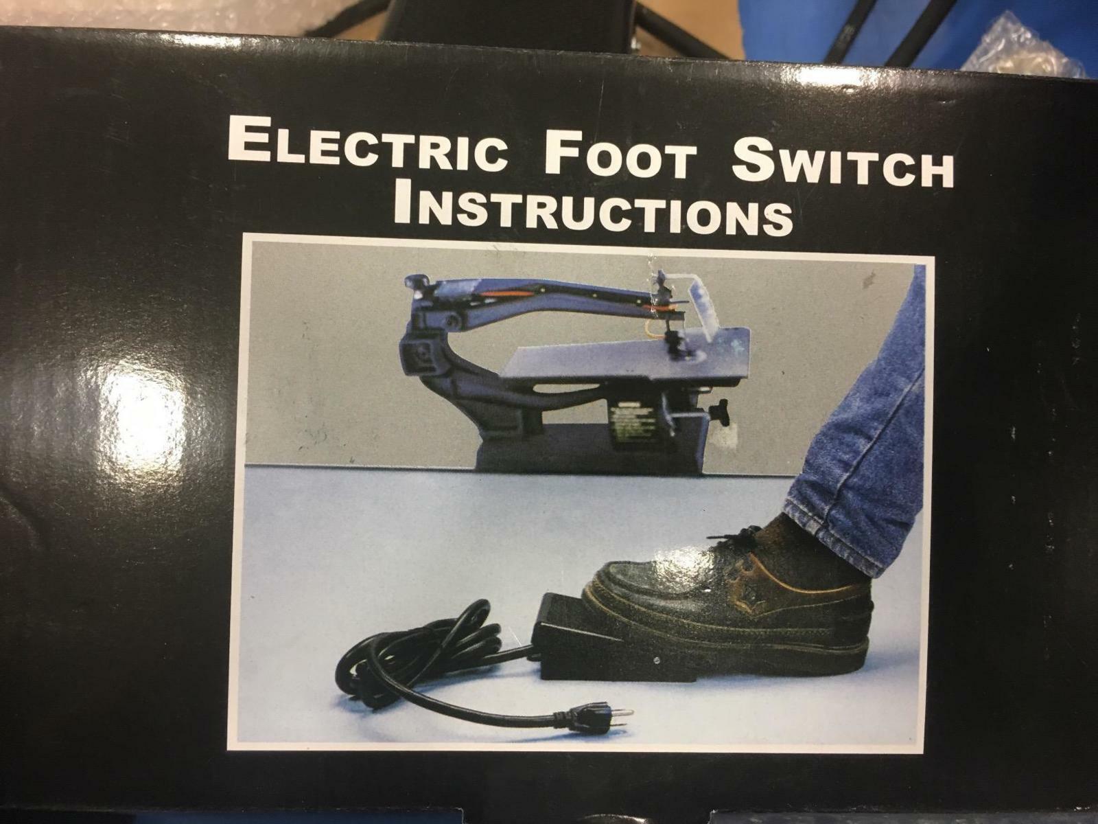 Hands-Free Foot Controller For Delta/Dremel/Dewalt/Wen Scroll Saw
