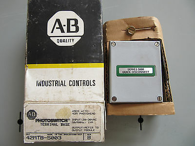 Allen Bradley 42mtb-5003 Photoswitch Terminal Base New In Box Free Shipping