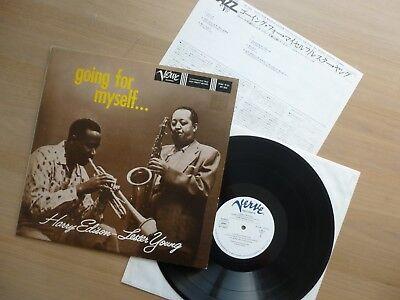 Harry Edison, Lester Young – Going For Myself...MONO  JAPAN  LP  Vinyl  MINT-