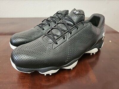 Under Armour UA Drive One Golf Shoes Men's Black 1294917-001 Used Size 11.5