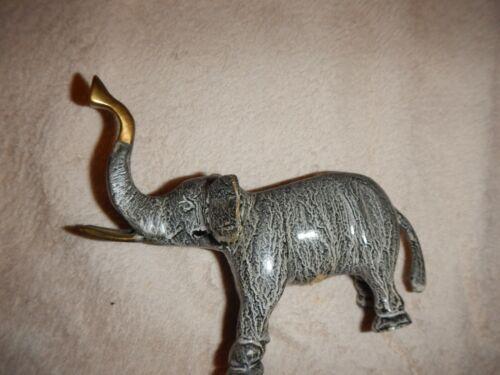 Elephant metal figurine