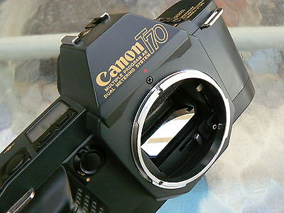 CANON T70 CAMERA BODY *35MM SLR CAMERA *TESTED & WORKING *MINT
