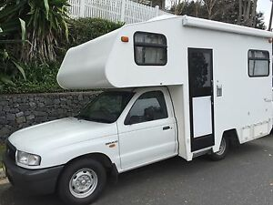 Mazda Bravo Motorhome with 64,450 kms. Hamilton Brisbane North East Preview