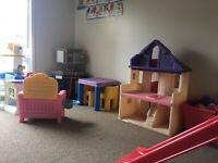 Space available in home daycare immediately !!!