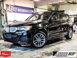 2017 BMW X3 xDrive28i M Package! NAV!