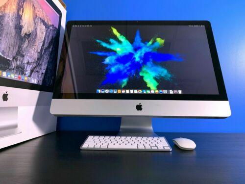 Apple iMac 27 Desktop All-In-One | 3.7GHZ TURBO | 1TB | OS2017 | 3 YEAR WARRANTY