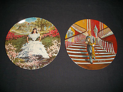 - Vintage Gone with the Wind Collector plate series
