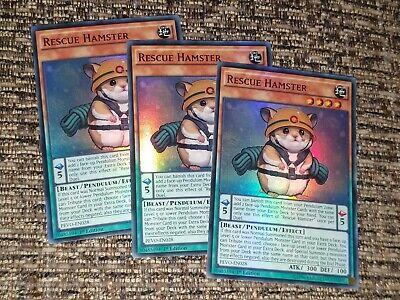 Yu-Gi-Oh Lightsworn Hunter Ryko Super Rare LODT-EN022 X3 PLAYSET