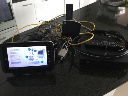 Telstra T-Hub 2 tablet & phone plus Telstra T-Box