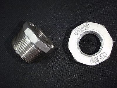 Stainless Steel Bushing Reducer 1 14 X 34 Npt Pipe