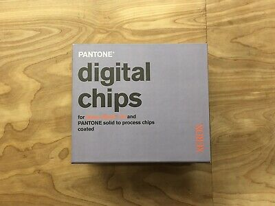 Xerox Pantone Book Color Chips Excellent Condition 2005 All Chips Present