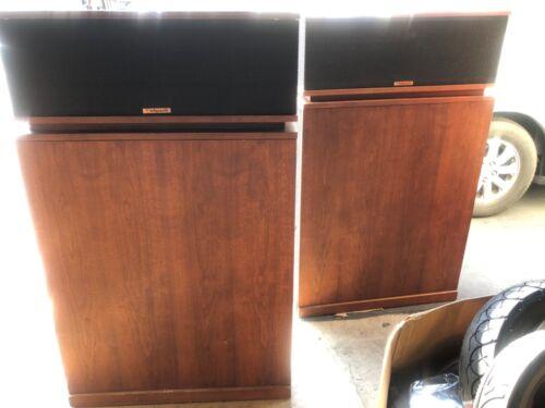 Klipsch Klipschorn speakers