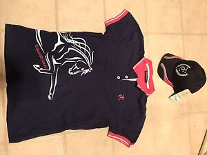 Matching Equestrian Polo Top And Cap - Ladies - Size 12 (Thomas Cook) Bairnsdale East Gippsland Preview
