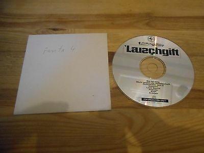 CD Hiphop Fantastische Vier -  Lauschgift (8 Song) Promo SONY COLUMBIA cd only (Fantastische Vier 8)