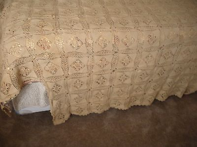 Antique Coverlette Bedspread Handmade Ohio Amish Country