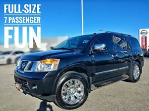 2015 Nissan Armada Platinum Leather Roof Navi  FREE Delivery